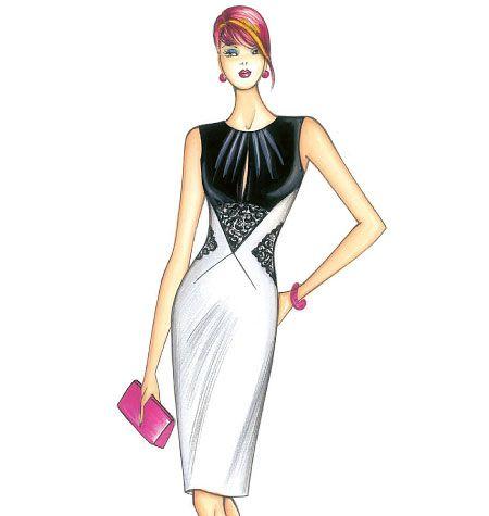 F3659, Marfy Dress, I need to make this dress.... | Vestidos ...