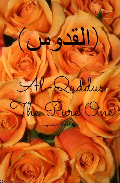 Al-Quddus (القدوس) The Pure One