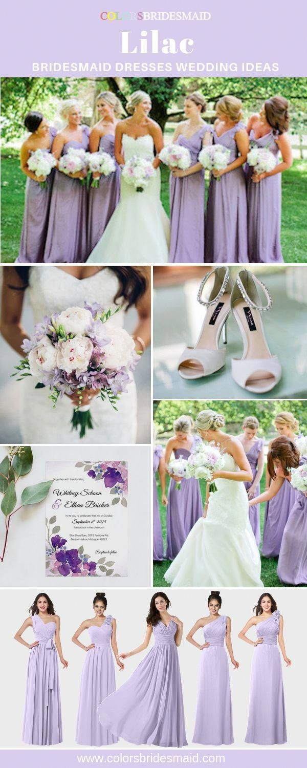 Lilac Bridesmaid Dresses In 500 Custom Made Styles All Sizes 150 Color Swatc In 2020 Lilac Bridesmaid Dresses Lavender Bridesmaid Dresses Purple Bridesmaid Dresses