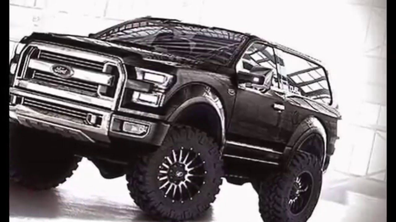 2017 ford bronco interior and exterior