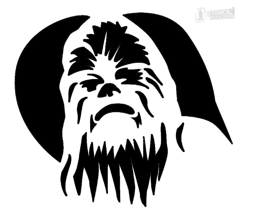 Chewbacca Stencils | STENCIL DESIGNS | Halloween pumpkin ...