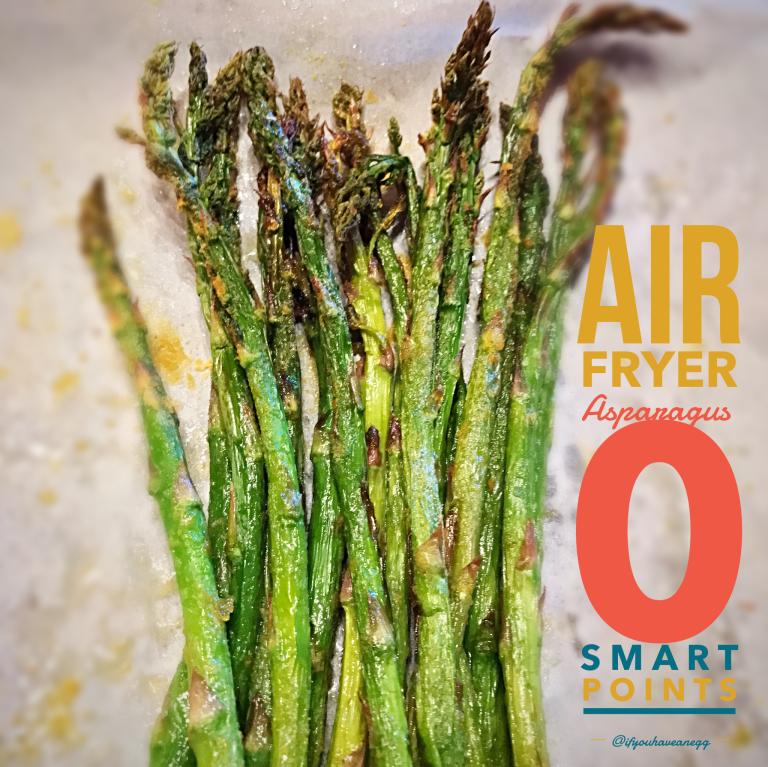 Air Fryer Asparagus 0 Smart Points! Air fryer healthy
