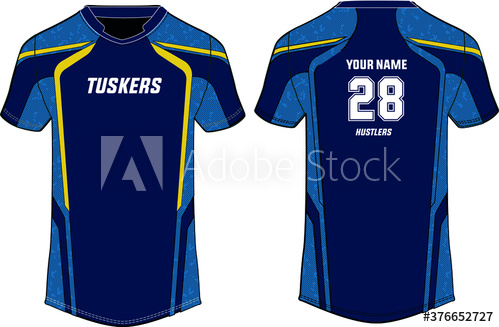 Download Sports T Shirt Jersey Design Template Mock Up Uniform Front And Back V Buy This Stock Vector And Explore Similar Vectors Jersey Design Sport T Shirt Shirts
