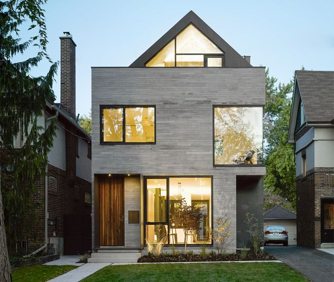 Best A Modern Home With A Curiously Pitched Roof Modern Roof Design Modern House Exterior 400 x 300
