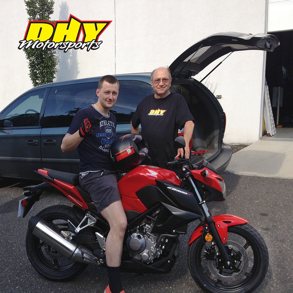 Congratulations to Denys from Brooklyn NY on his
