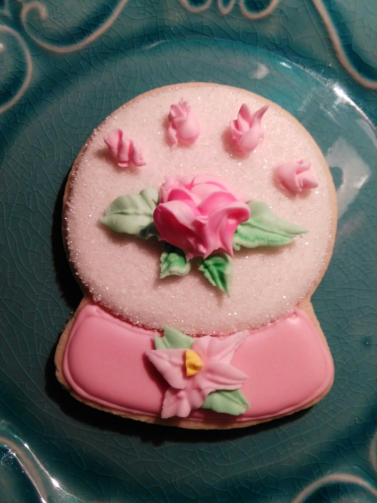 Cookie by Grammy Pammy\'s Sweetery, tea party favors cookies, pink ...