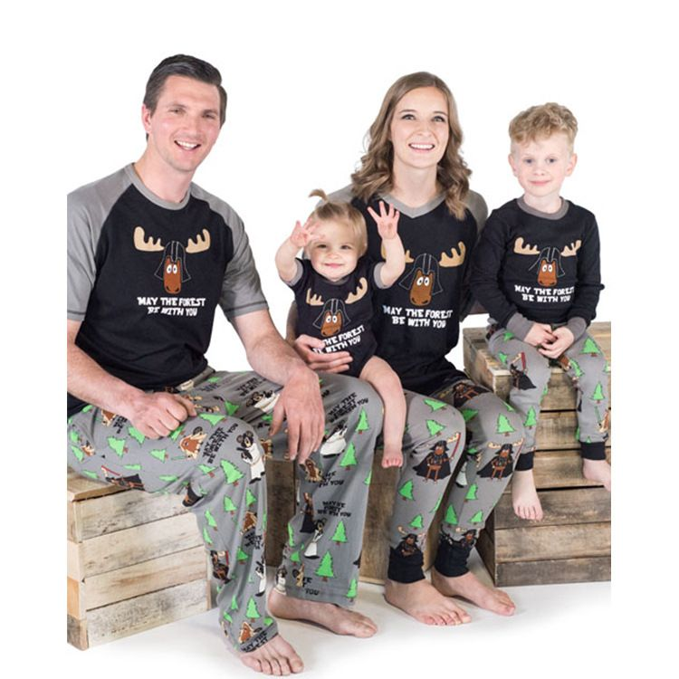 f2715e944685 Family Christmas Matching Pajamas for Star Wars Lovers Custom Name  Available.  StarWars  starwarfamily  starwars  starwarsshirt   christmasgifts ...