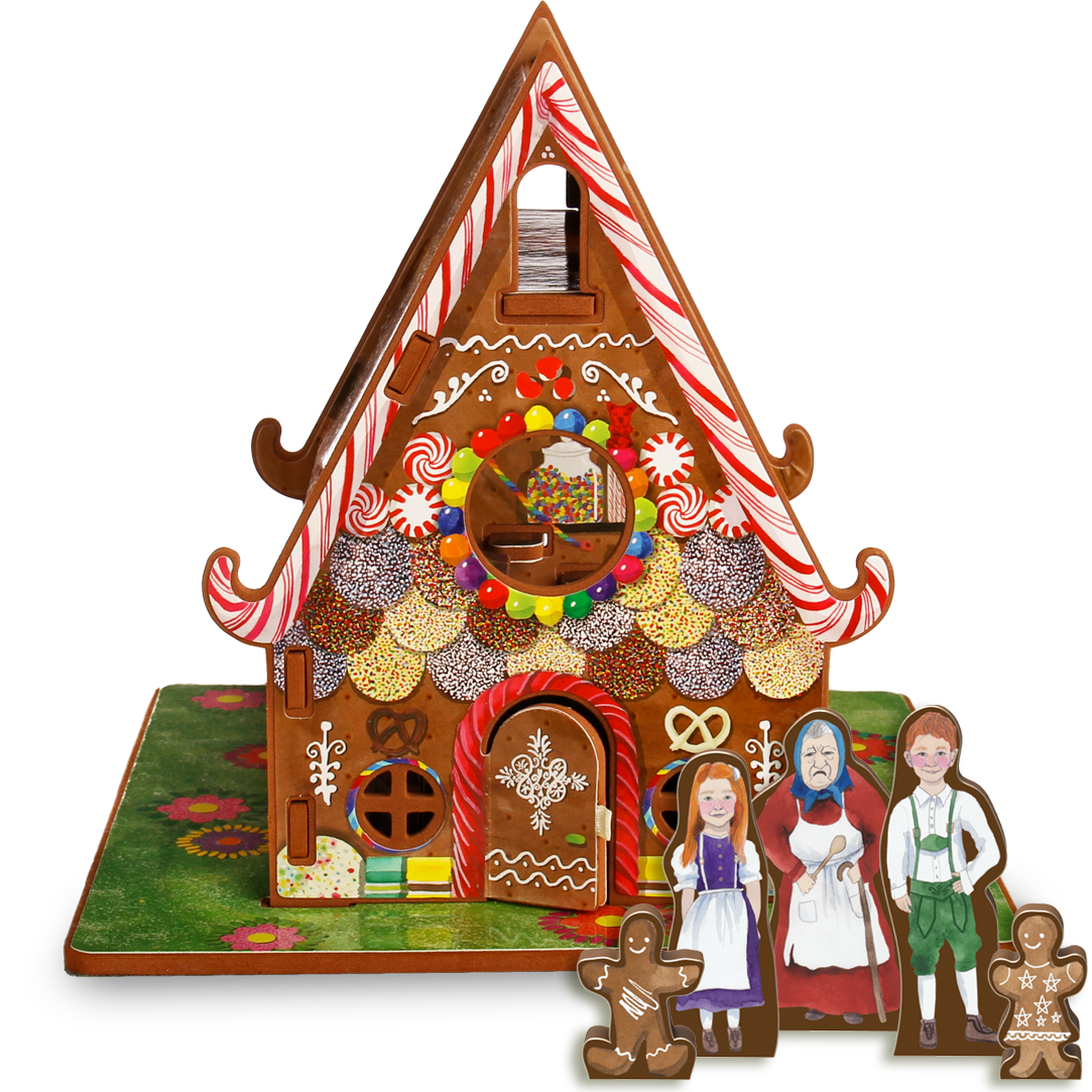 Hansel and Gretel Hansel, gretel house, Toy house, Candy