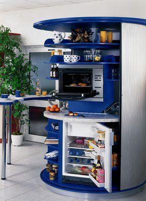 Muebles de Cocinas para Espacios Pequeños Decoración de Casas | casa ...