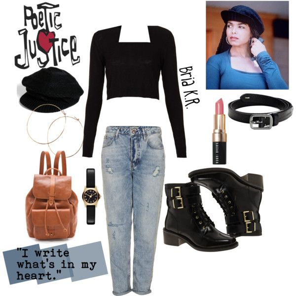 Poetic Justice inspired look by briarhoney on Polyvore featuring polyvore fashion style ...