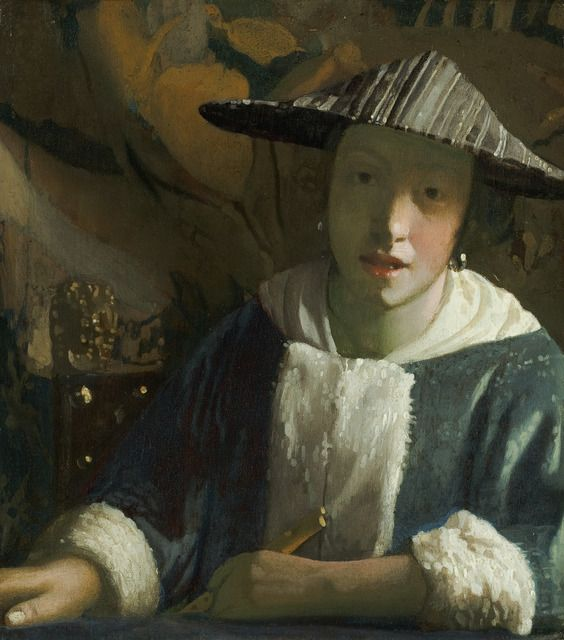 Johannes Vermeer, 'Girl with a Flute,' ca. 1665-70, National Gallery of Art, Washington, D.C.