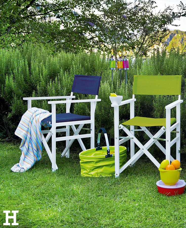 Raus ins Freie, mit unseren Gartenmöbeln wird es dabei sogar richtig ...