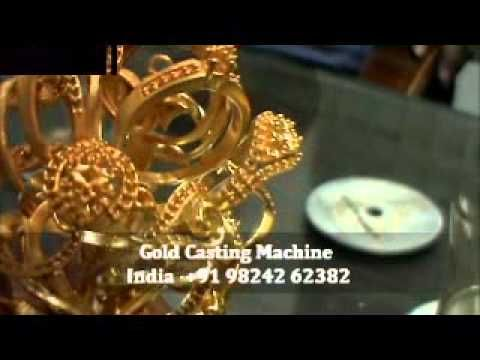 Gold Jewellery Vacuum Casting Machinewmv httpvideos
