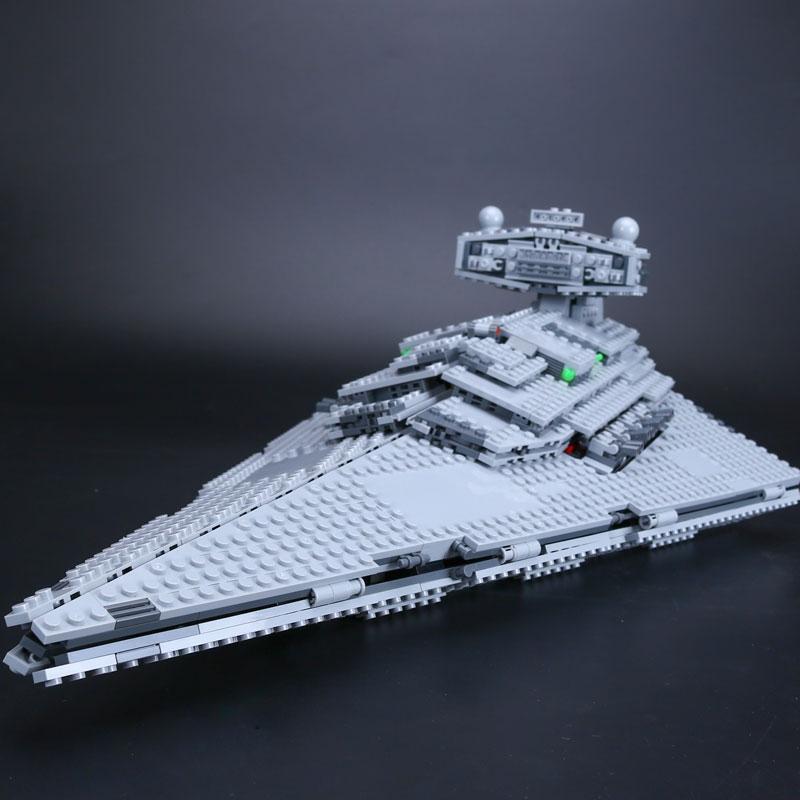 84.00$  Buy now - http://alii02.shopchina.info/1/go.php?t=32796113290 - Lepin 05062 1359pcs Genuine New Star War Series The Imperial Star Destroyer Set 75055 Building Blocks Bricks Gift Children Toys  #buyonline