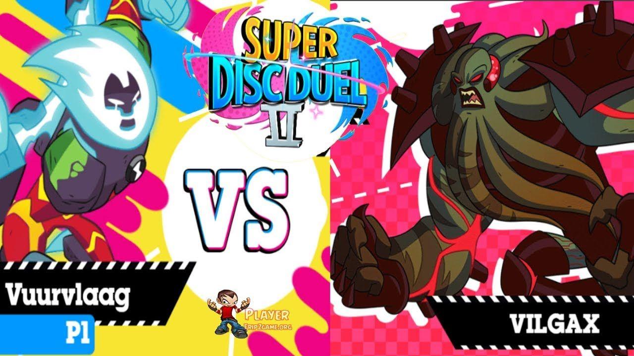 Gumball Super Disc Duel II Vuurvlaag Vs Vilgax Boss