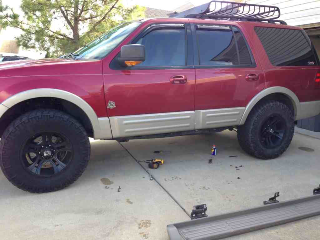Ford Expedition 2003 Lifted I Decided To Take The Running Boards
