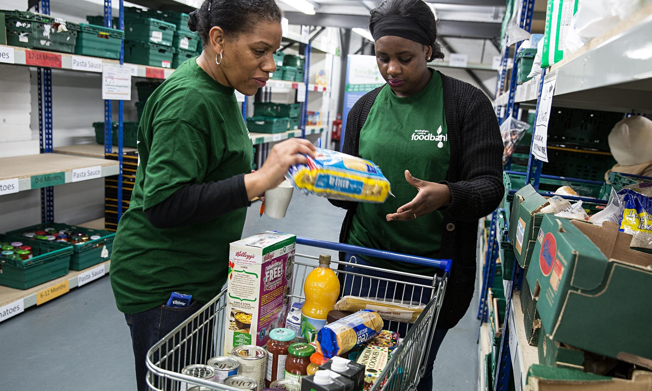 All-party parliamentary inquiry, co-chaired by Labour's Frank Field, finds evidence behind growth in food banks