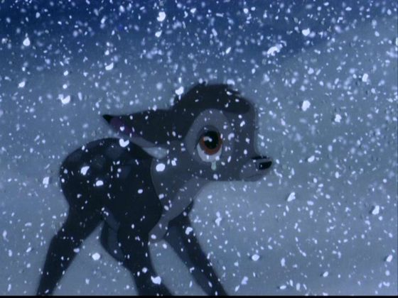 """Day 8: Saddest Moment - Bambi. """"Your Mother can't be with you anymore."""""""