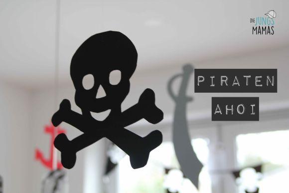 Piraten deko aus moosgummi pirate decoration diy - Piraten deko basteln ...