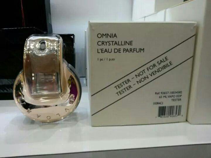 Bvlgari Omnia Crystalline 65ml Tester Price Rm180 Rm190 Bvlgari Omnia Crystalline Omnia Crystalline Perfume Bottles