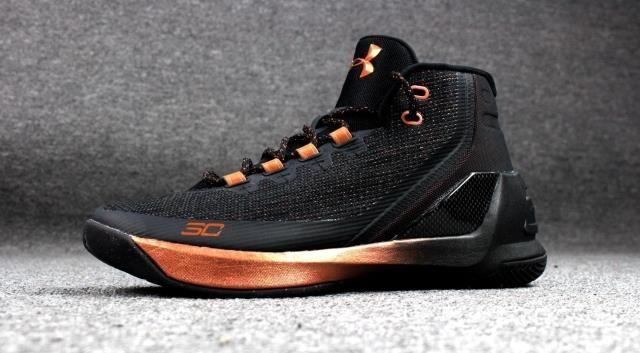 hot sale online 8a8e1 98da2 The Under Armour UA Curry 3 Copper 3M Basketball Shoes, Curry,