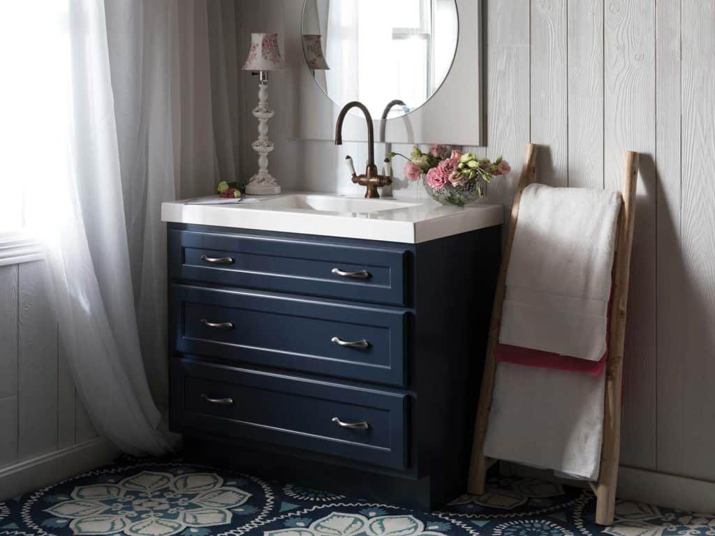 Northbrook Vanity Dresser Cobalt Blue1 Blue Bathroom Blue Vanity Blue Bathroom Vanity