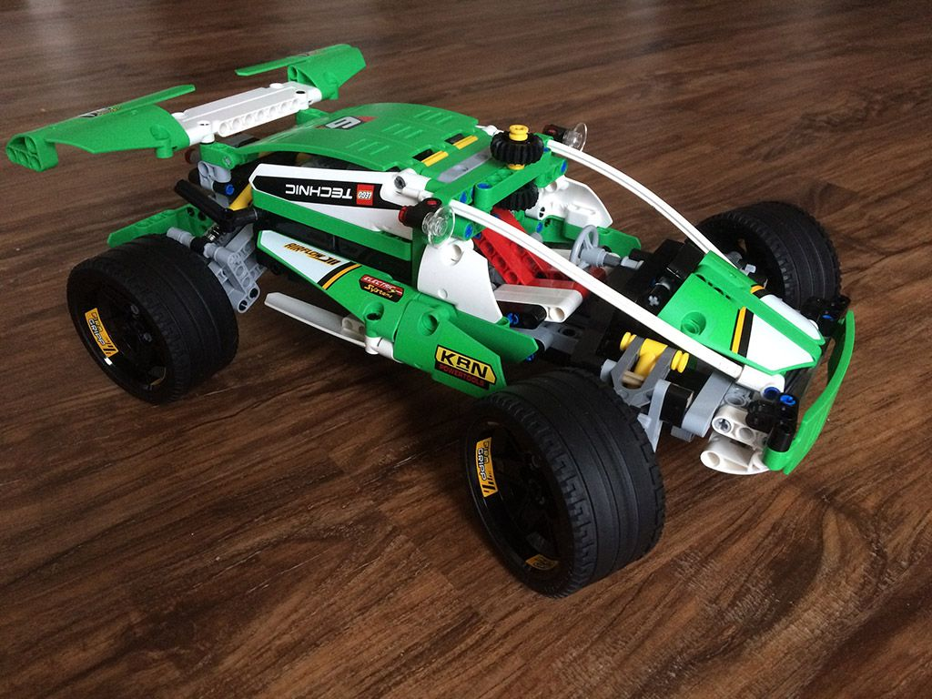 how to build lego technic models