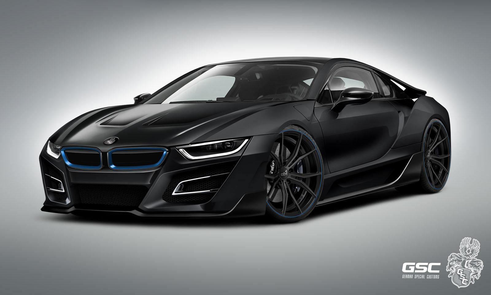 German Tuner Gives Bmw I8 An Itron Makeover Cars Pinterest