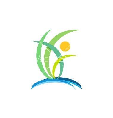plant people wellness logo nature ecology design vector http www rh pinterest co uk wellness logos for sale wellness logos designs