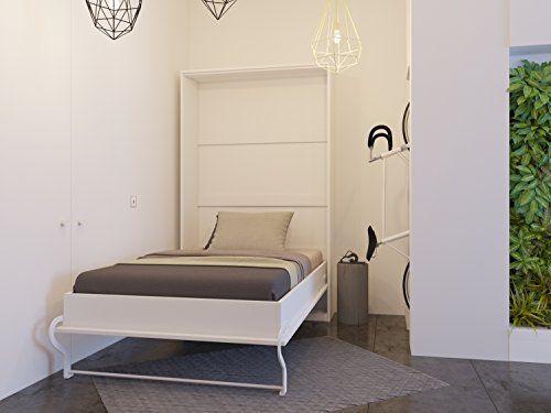 Wandklappbett als Gästezimmer Möbel, platzsparender Bettschrank in ...