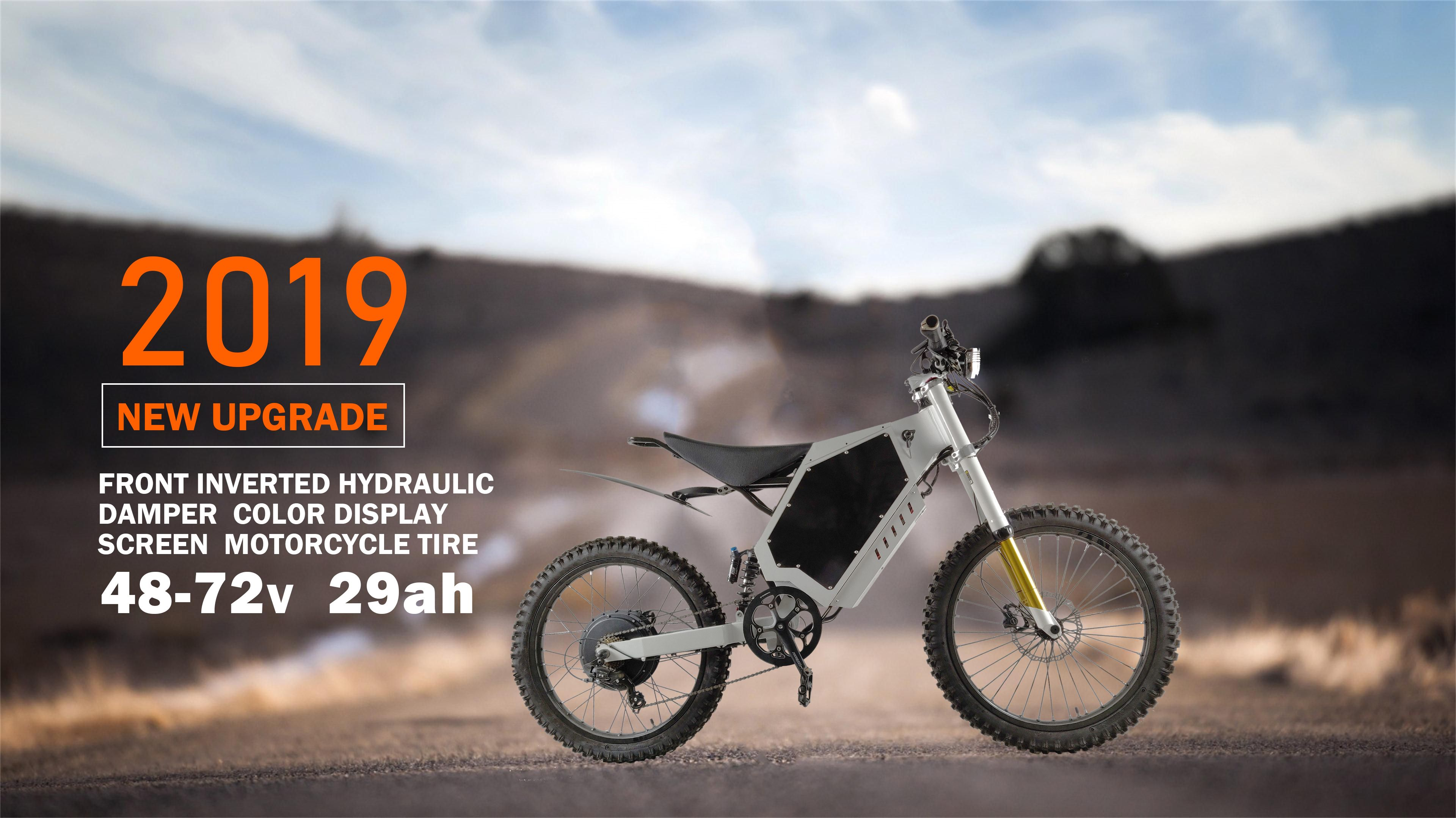 Enjoy Riding With 2019 New Style Electric Dirt Bike This Is Our