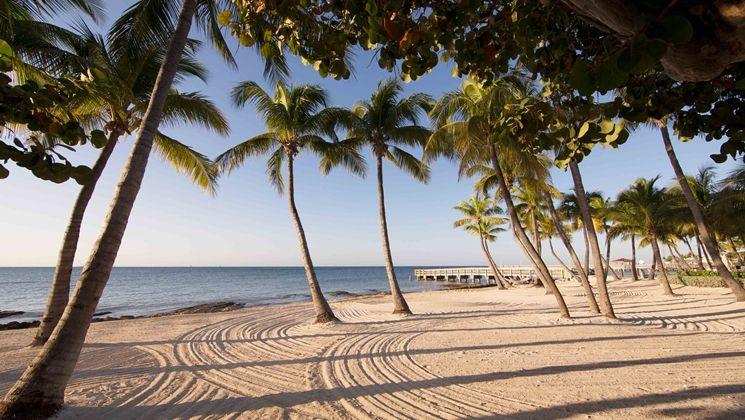 Casa Marina Resort & Beach Club, Key West, Florida Hotel - Key West natural sand beach