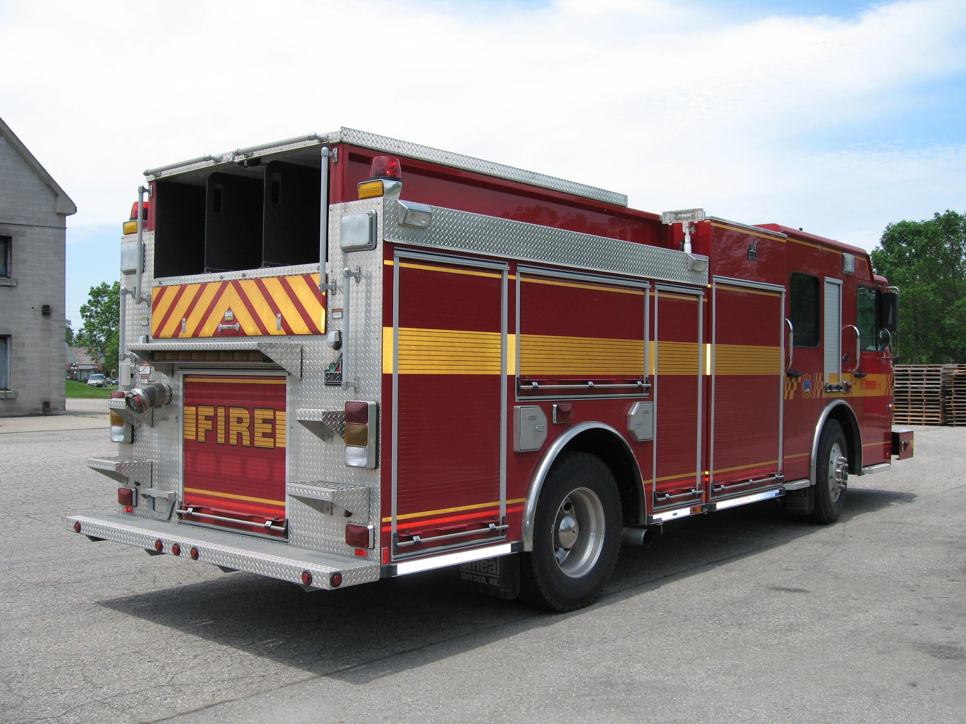 toronto fire apparatus Smeal Fire Apparatus Fire