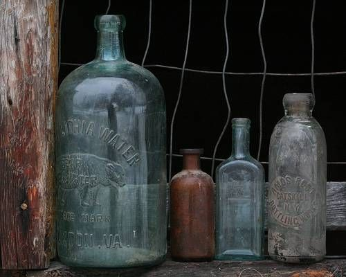 How To Clean Cloudy Antique Glass Hunker Antique Glass Bottles