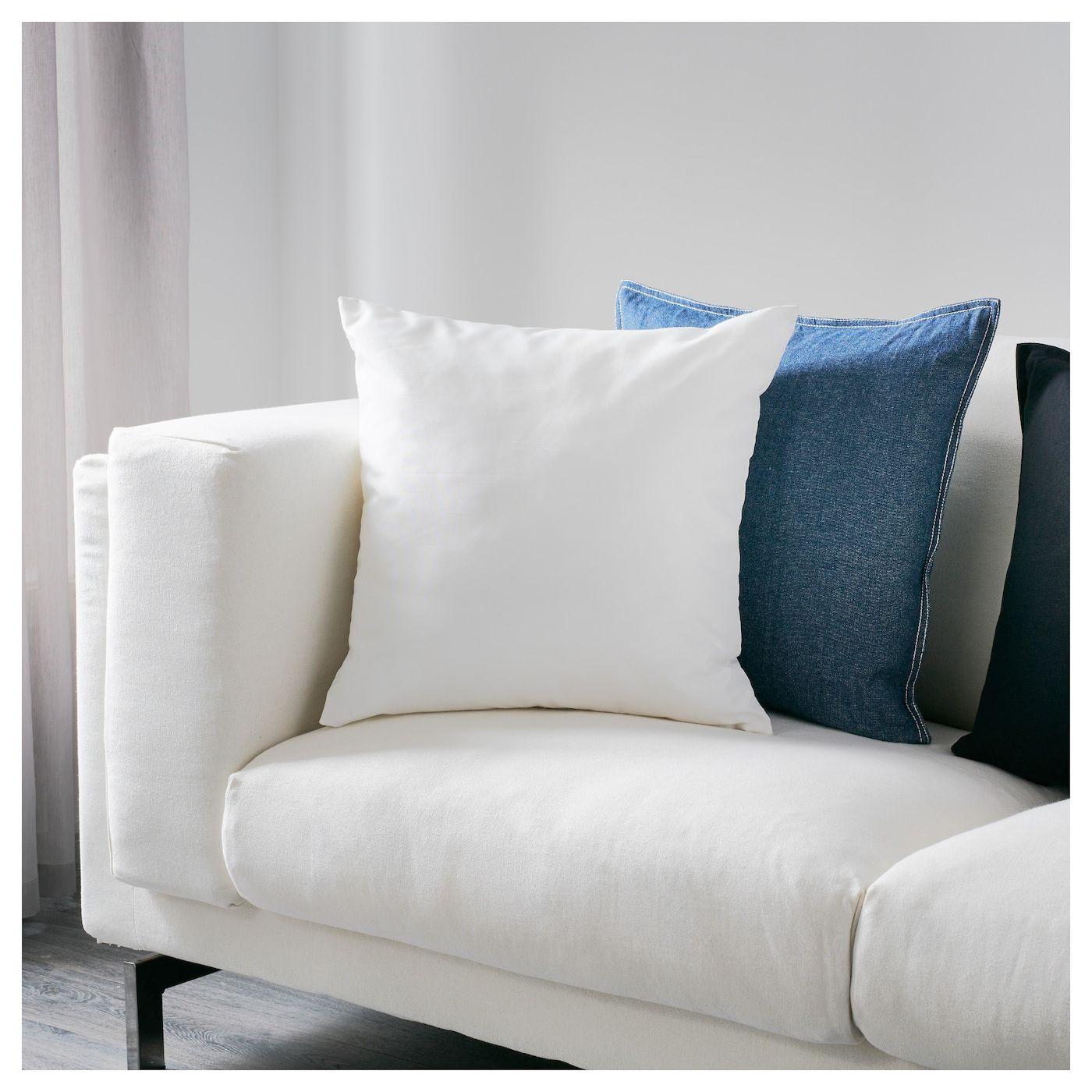 "ULLKAKTUS Cushion white 20x20 "" Cushions ikea, Outdoor"