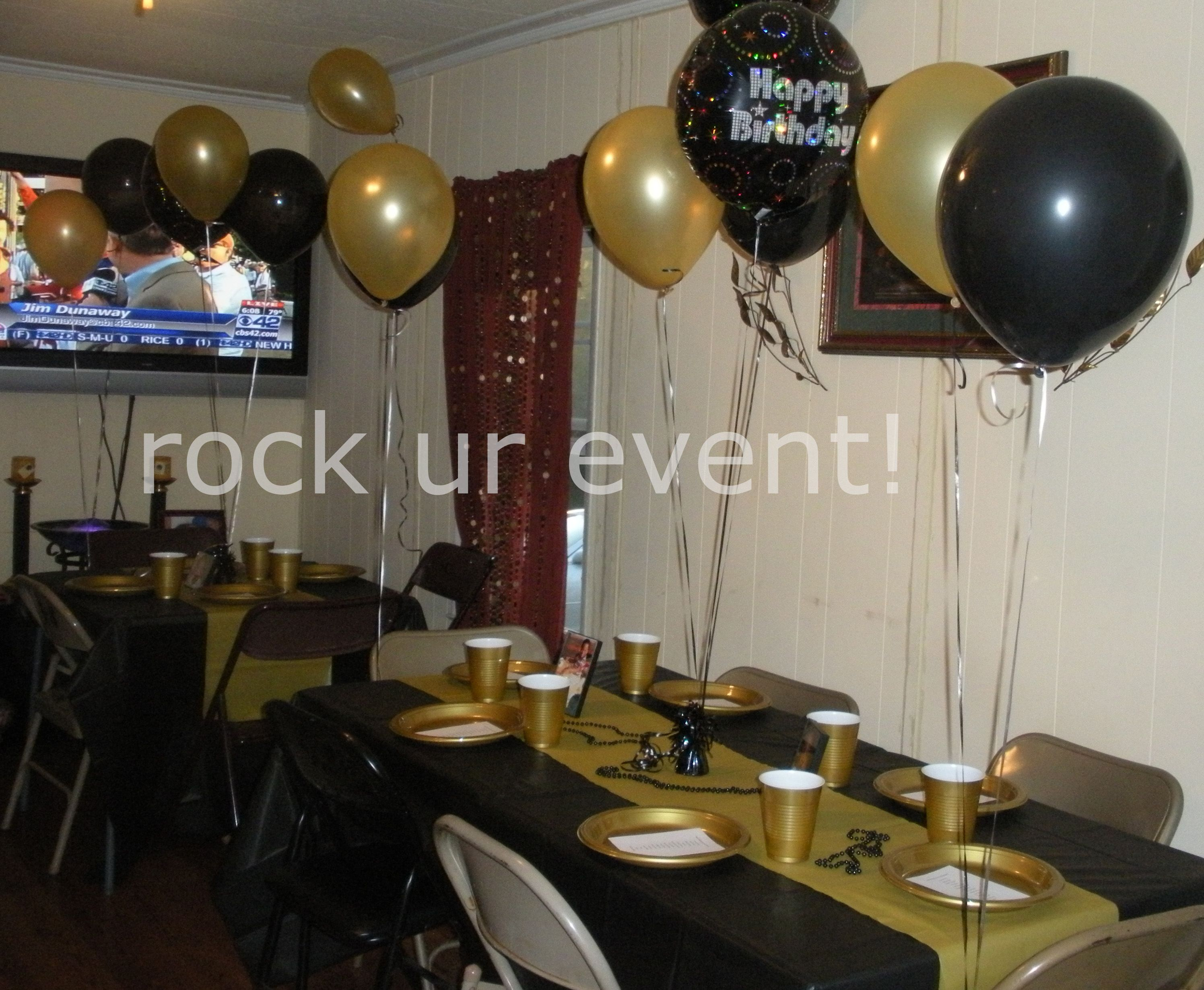 New Orleans Saints Themed Birthday Party