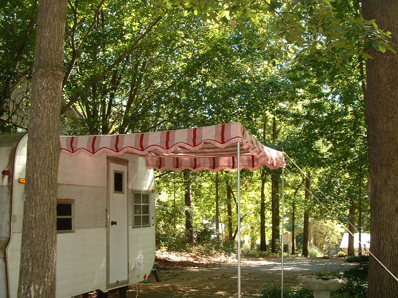 2020 Sunbrella Awning Fabric Just Arrived Trailer Awning Vintage Trailer Awning