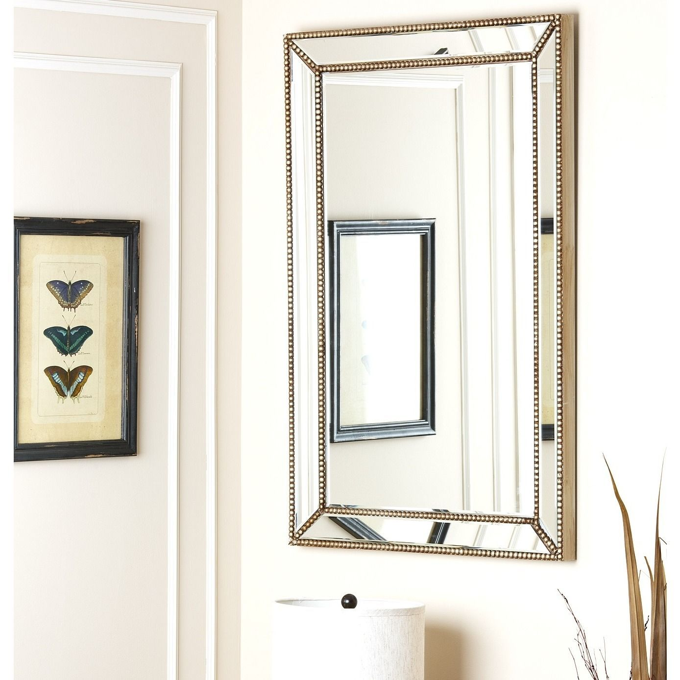 Beautiful Abbyson U0027Cosmou0027 Rectangular Wall Mirror (Mirror), ...