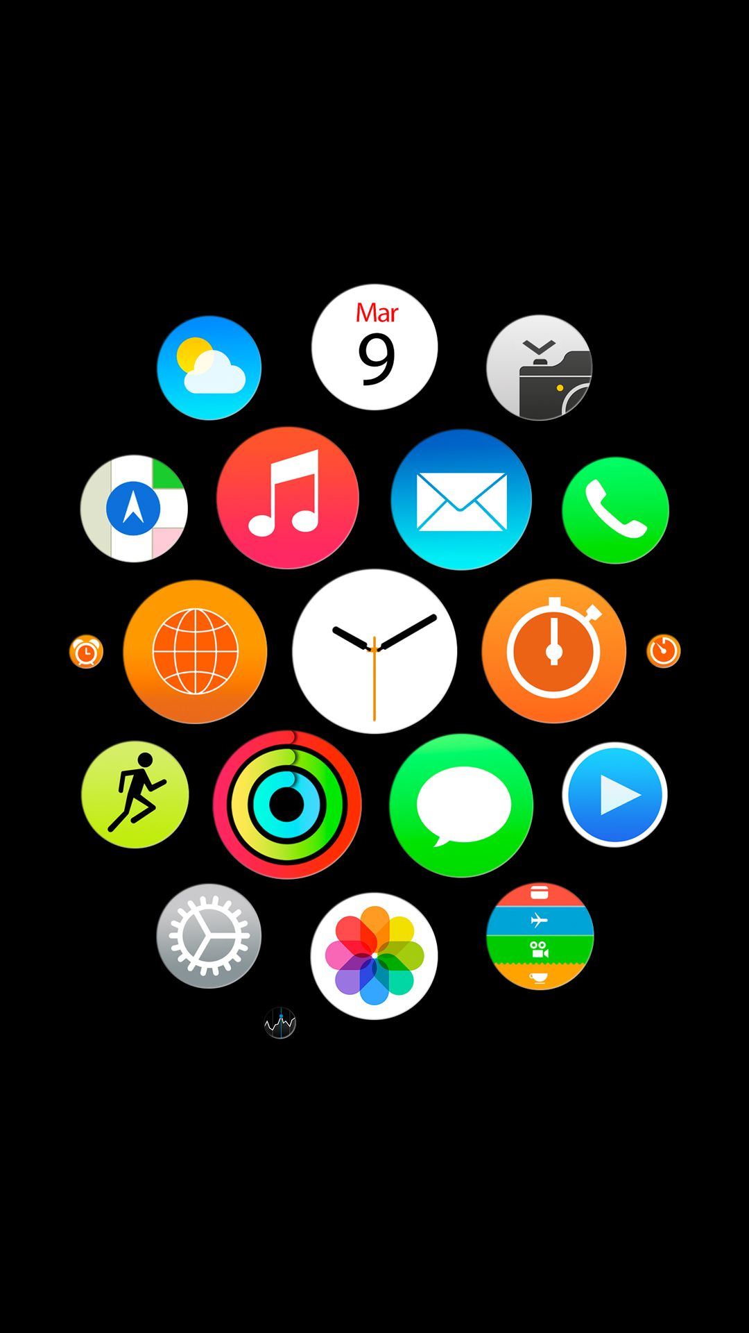 Apple Watch Official 1 Iphone 6 Plus Wallpaper 1080x1920
