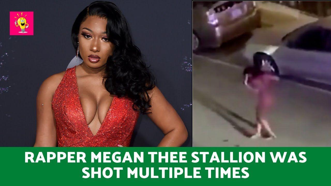 Rapper Megan Thee Stallion Was Shot Multiple Times In The Foot Buzz In In 2020 Rapper Celebrities Megan