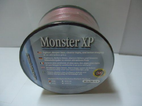 Monster Cable XP Clear Jacket Speaker Wire Compact-Mini-Roll - 30 ...