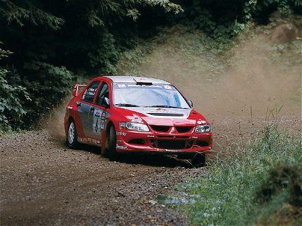 Mitsubishi Lancer Evo Viii Rally Etc Mitsubishi Lancer