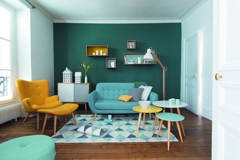 Deco scandinave, design scandinave : style nordique, pastel, blanc et bois