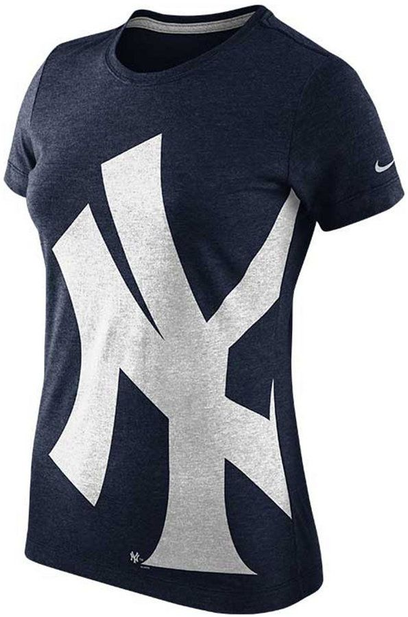 b0ddc19205b687 Nike Women s New York Yankees Balt T-Shirt