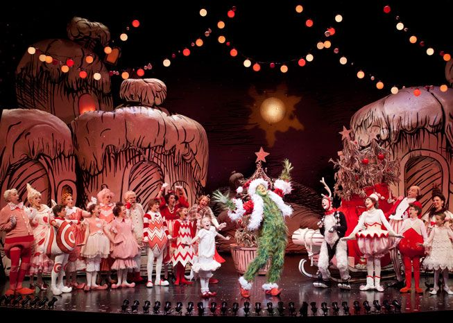 Hows The Grinch Stole Christmas Broadway Set Google