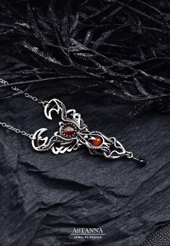 Scorpio necklace Scorpion Zodiac gift Astrology necklace