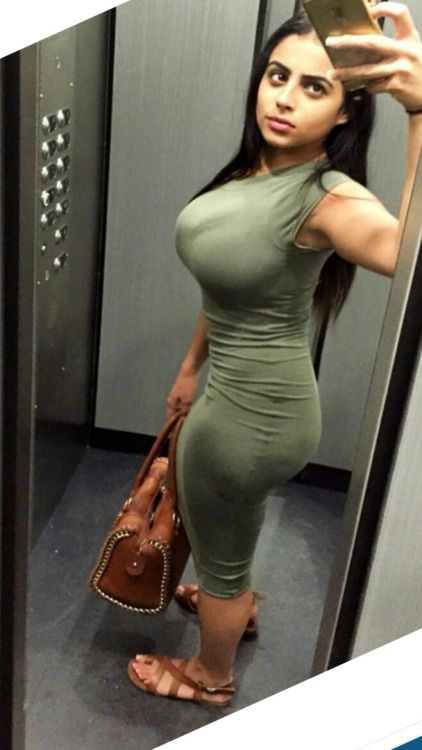 Big tits big ass botox tight dress