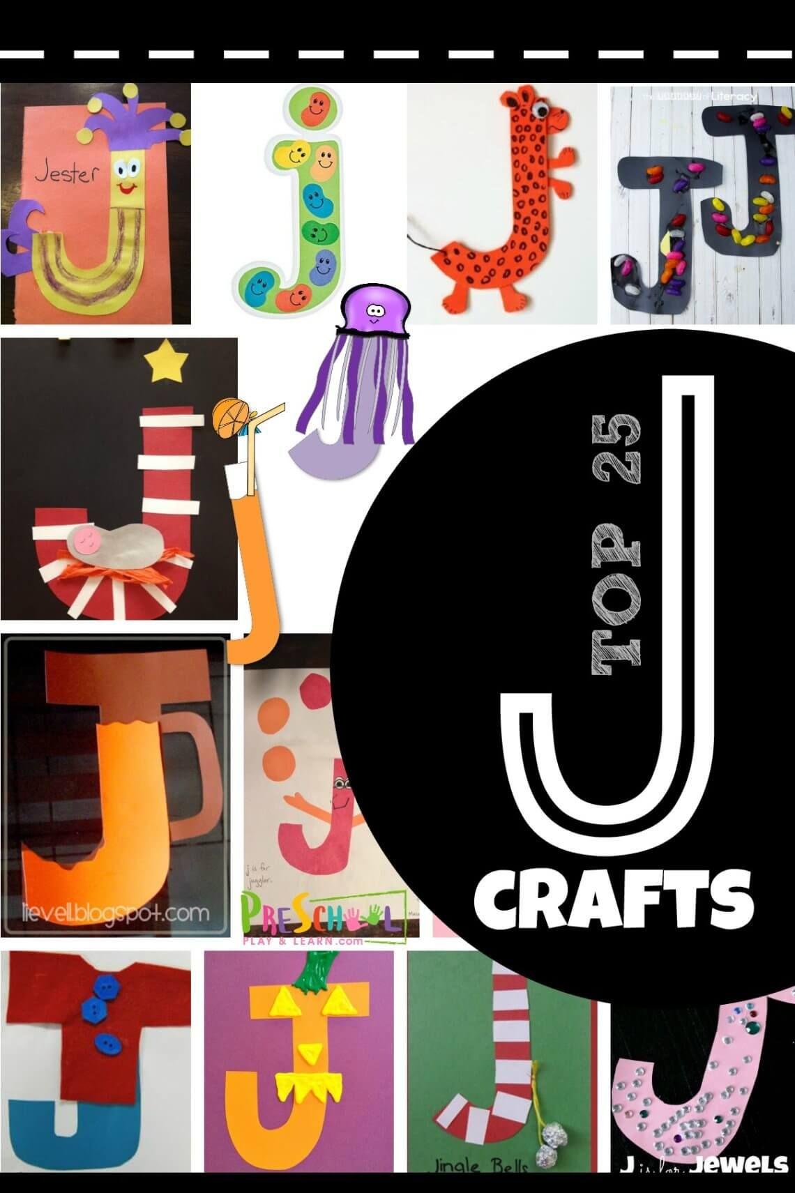 Top 25 Letter J Crafts