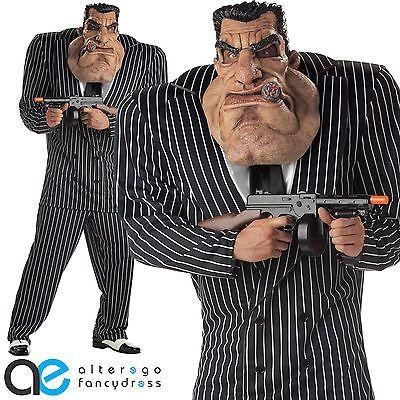gangster costume Adult massive mobster