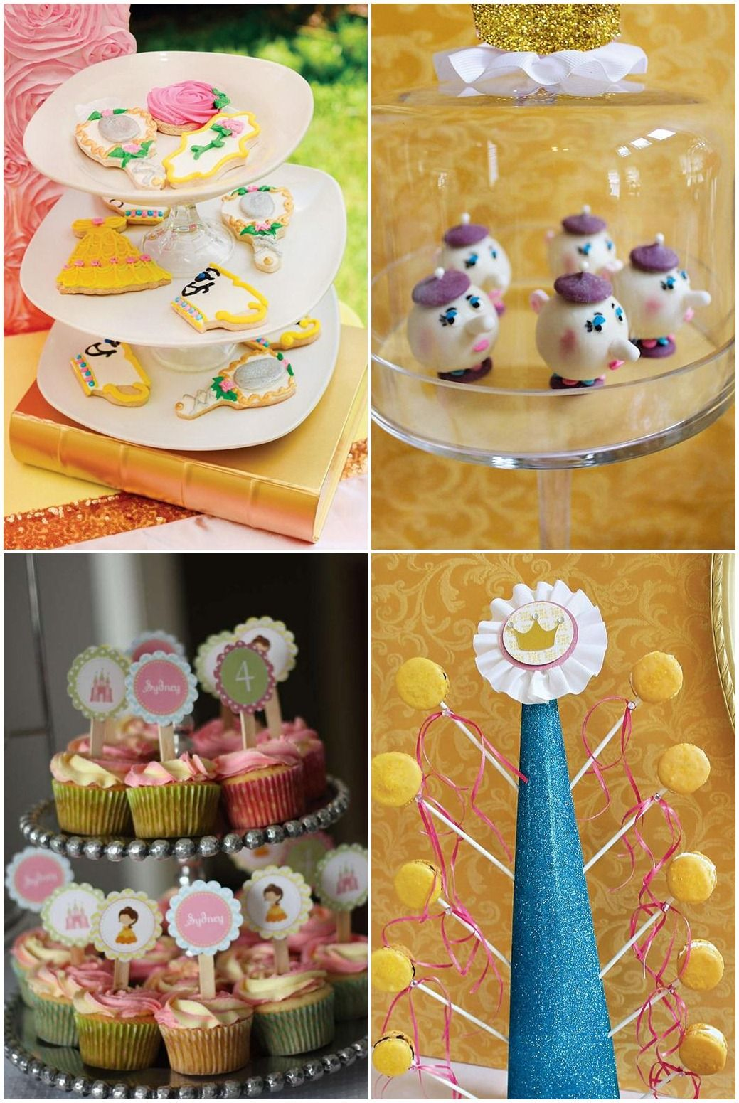Princess Belle Party Decorations Princess Belle Birthday Party Food Ideas  Bells Birthday